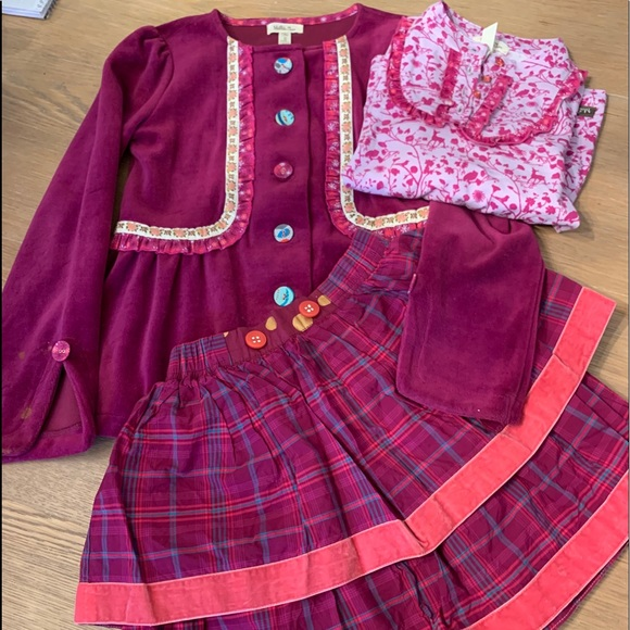 Size 6 Matilda Jane 3 pc outfit